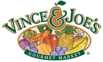 A logo of Vince & Joe's Gourmet Markets